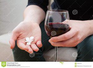 alcohol en pijnstillers